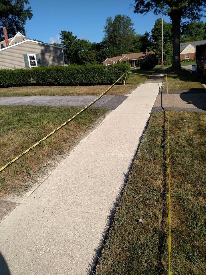 Sidewalk Refinishing