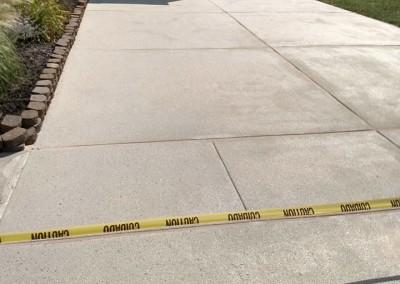 concrete driveway in Newark DE
