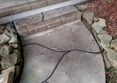 finished delaware concrete resurface