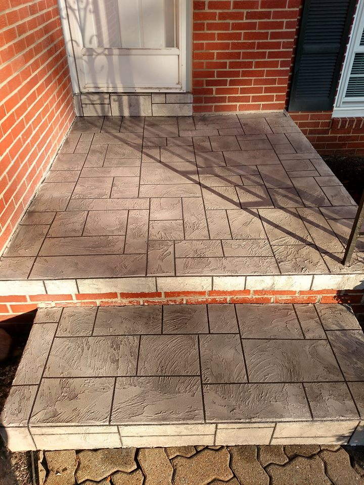 Small Patio Refinished