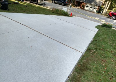finished result of graniflex install by wilmington concrete resurfacing