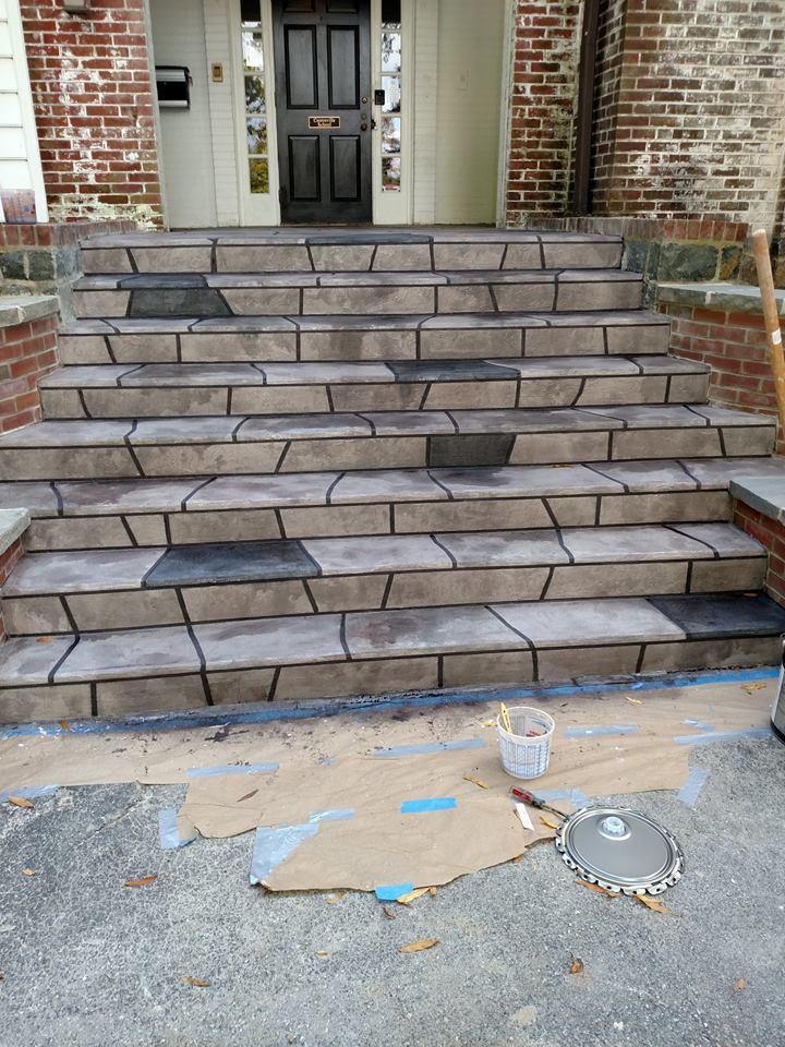 Centerville Delaware Concrete Step Resurfacing