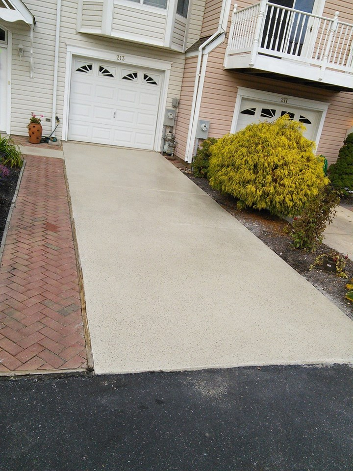 Concrete Driveway In Need Of Repair In Maryland