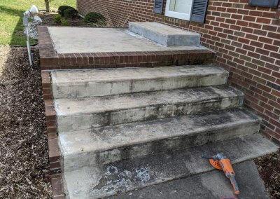 Concrete Step Overhaul